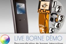 personnalisation bornes interactives