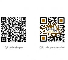bornes interactives qr code
